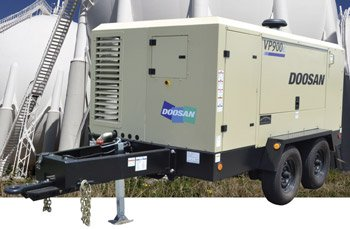 LARGE PORTABLE AIR COMPRESSORS